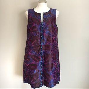 New J. Crew Embroidered Sleeveless Dress